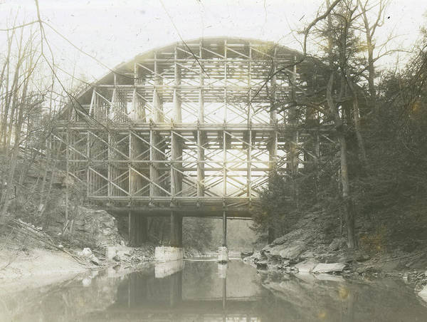 Photograph - Walnut Lane Bridge by Unknown