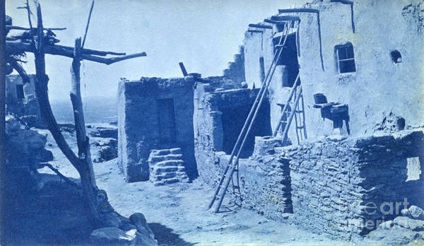 Photograph - Walpi Hopi Villages Located On First Mesa In Navajo County, Nort by California Views Archives Mr Pat Hathaway Archives
