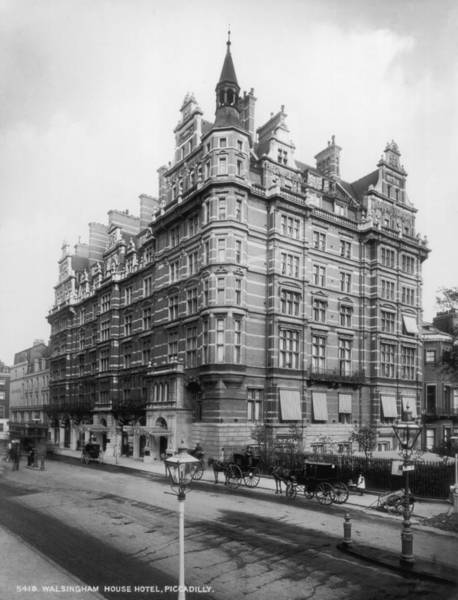 Carlton Hotel Photograph - Walsingham Hotel by London Stereoscopic Company
