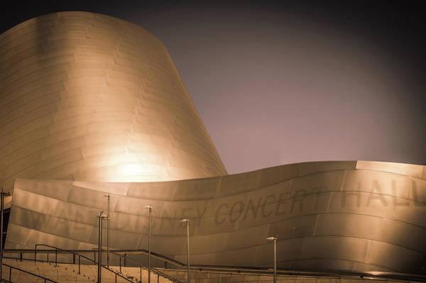 Wall Art - Photograph - Walt Disney Concert Hall by Art Spectrum