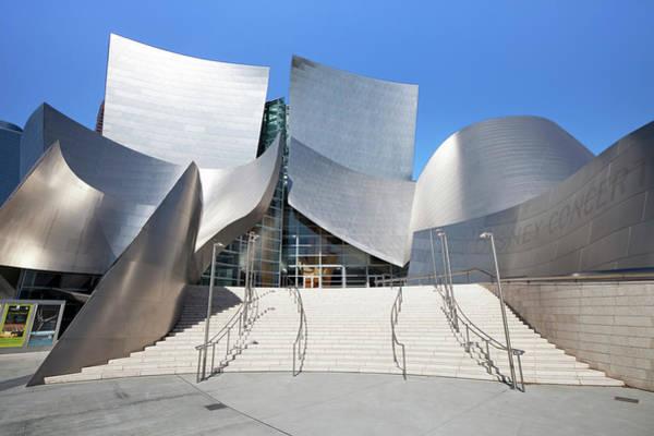 Concert Hall Photograph - Walt Disney Concert Hall, Los Angeles by Gavin Hellier / Robertharding