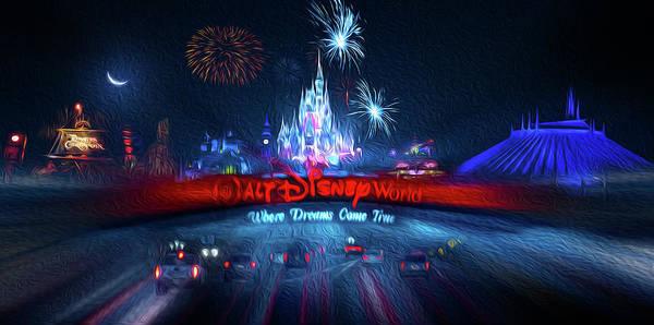 Adventureland Photograph - Walt Disney World  by Mark Andrew Thomas
