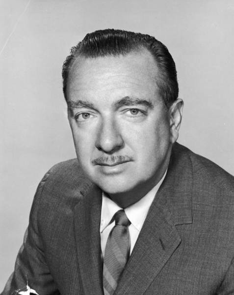 Adult Male Photograph - Walter Cronkite by Hulton Archive