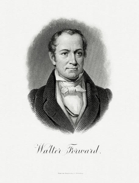 Wall Art - Painting - Walter Forward by The Bureau of Engraving and Printing