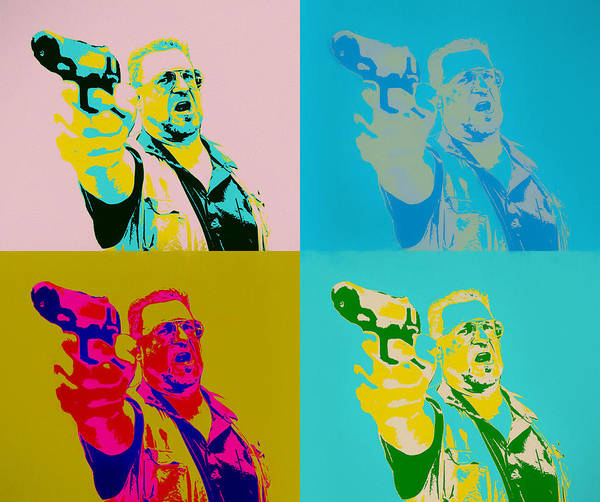 Wall Art - Mixed Media - Walter Sobchak by Dan Sproul