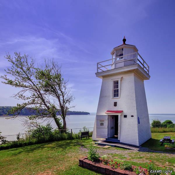 Digital Art - Walton Lighthouse by Ken Morris