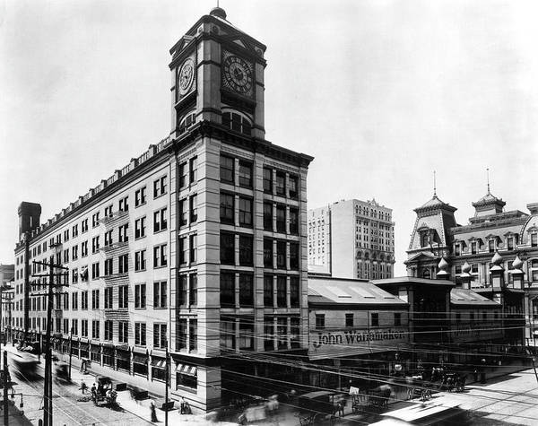 Photograph - Wanamaker's Grand Depot by Unknown