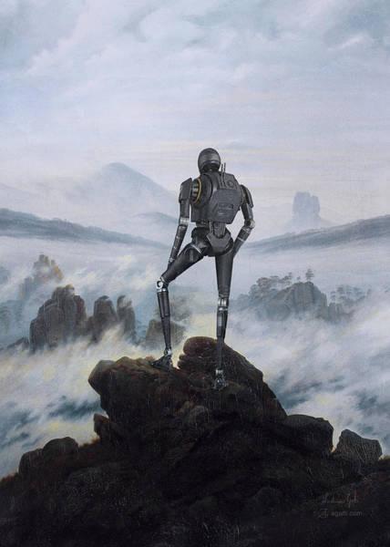 Wall Art - Digital Art - Wanderer K2so by Andrea Gatti