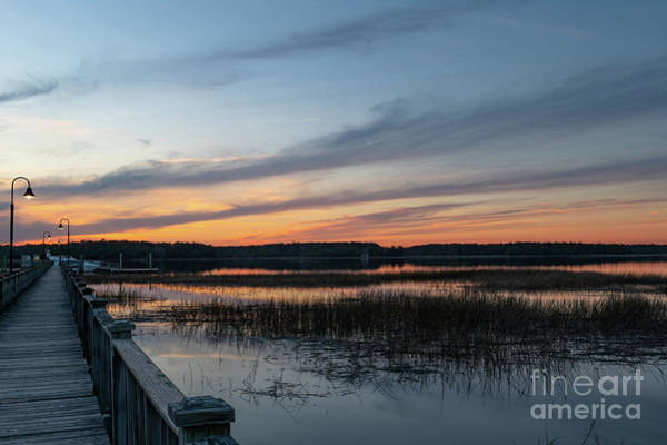 Photograph - Wando River At Dusk by Dale Powell