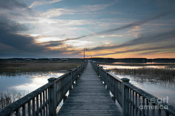 Photograph - Wando River - God's Canvas by Dale Powell