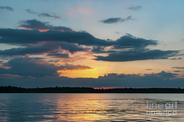 Photograph - Wando River Sunset - Southern Exposure by Dale Powell