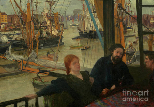 Wall Art - Painting - Wapping 1860 To 1864 by James Abbott McNeill Whistler