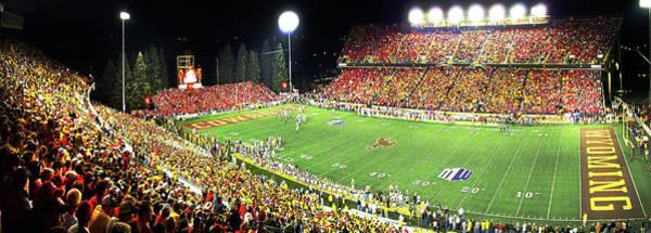 Photograph - War Memorial Stadium Panorama by Chance Kafka