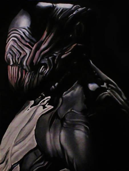Videogame Painting - Warframe Stalker by Ana Djurkovic