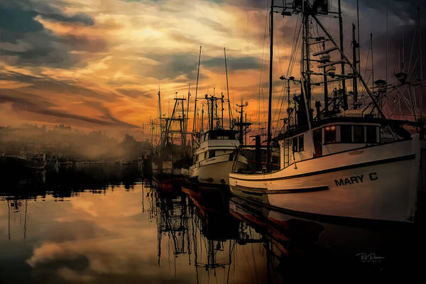 Photograph - Warm Morning On The Bay by Bill Posner