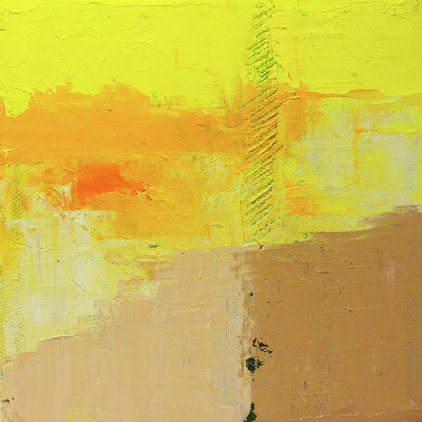 Wall Art - Painting - Warm Weather Abstract by Nancy Merkle