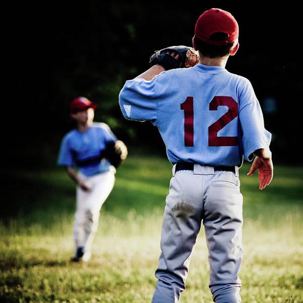 Softball Photograph - Warmup by Rudy Malmquist
