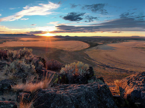Photograph - Warner Valley Overlook by Leland D Howard