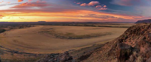 Photograph - Warner Valley Panoramic by Leland D Howard