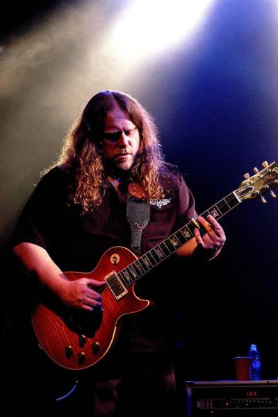 Wall Art - Photograph - Warren Haynes Live by Larry Hulst