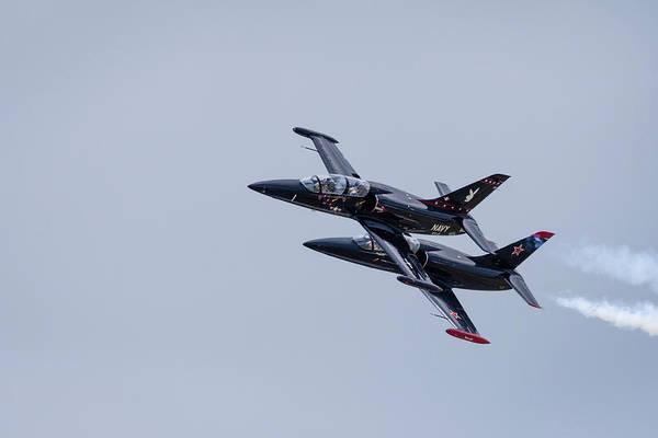 Photograph - Warrior Flight Team Performance by Todd Henson