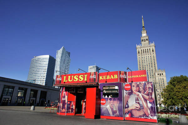 Wall Art - Photograph - Warsaw Kebab Kiosk by Tom Gowanlock