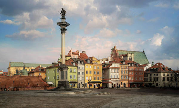Photograph - Warsaw On A Sunny Morning by Jaroslaw Blaminsky