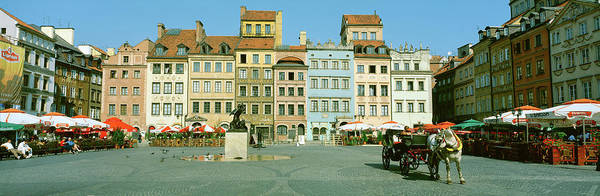 Wall Art - Photograph - Warsaw Poland by Panoramic Images