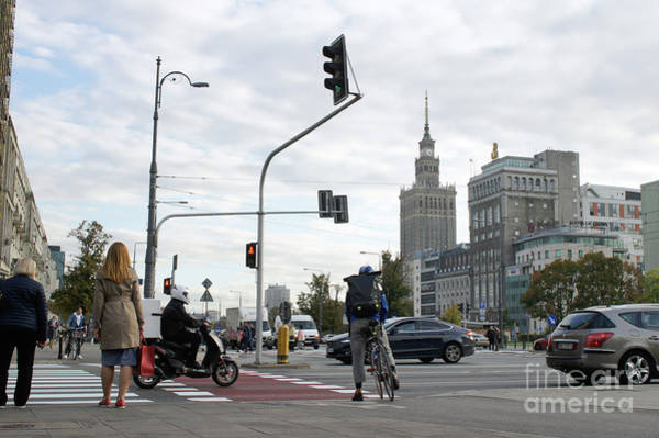 Wall Art - Photograph - Warsaw Road Crossing by Tom Gowanlock