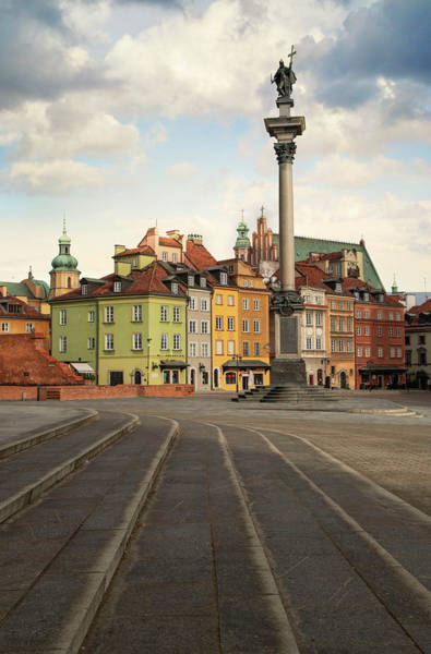 Photograph - Warsaw - The Old Town by Jaroslaw Blaminsky