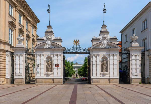 Wall Art - Photograph - Warsaw University Main Gate In Poland by Artur Bogacki