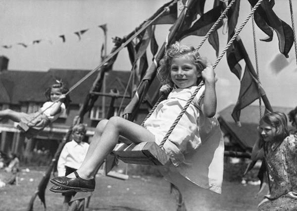 Carefree Photograph - Wartime Holiday by Fred Morley