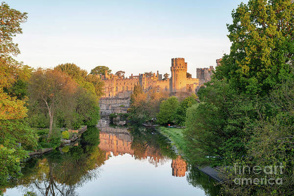 Photograph - Warwick Castle At Sunrise by Tim Gainey