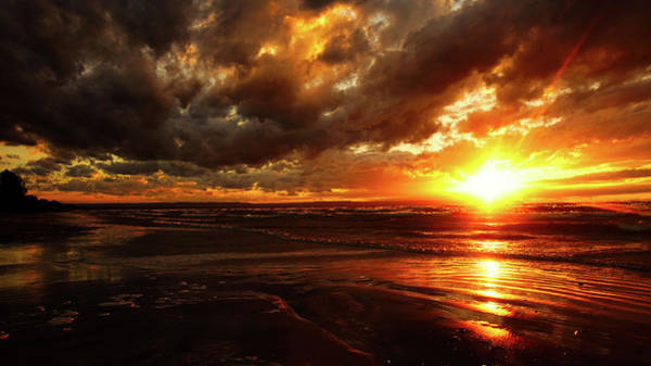 Photograph - Wasaga Sunset by Bryan Smith