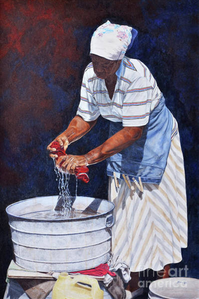 Painting - Wash Day by Nicole Minnis