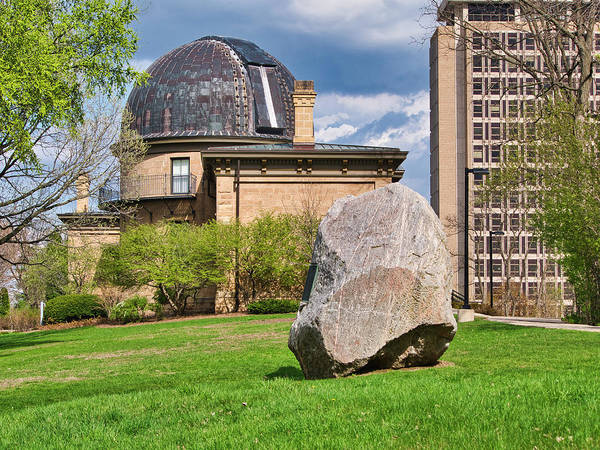 Photograph - Washburn Observatory - Uw Madison - Wisconsin by Steven Ralser