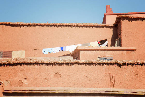 Photograph - Washday In Ait Ben Haddou by Jessica Levant