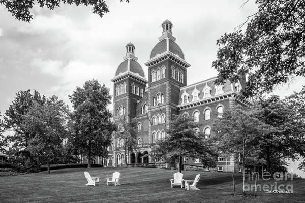 Jefferson Photograph - Washington And Jefferson College Old Main by University Icons