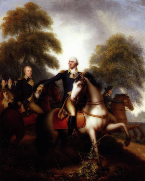 Wall Art - Painting - Washington Before Yorktown by Rembrandt Peale