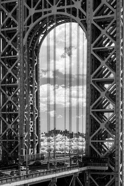 Photograph - Washington Bridge Gwb  by Susan Candelario