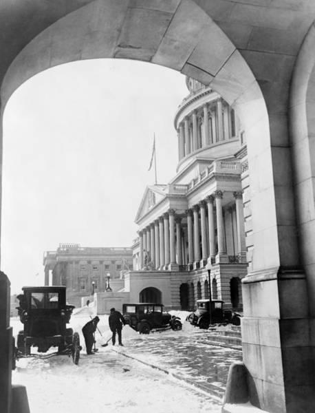 Wall Art - Photograph - Washington Capitol, C1925 by Granger