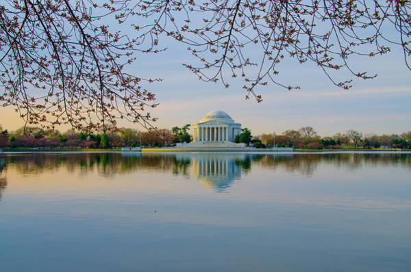 Wall Art - Photograph - Washington Dc - Jefferson Memorial At Dawn by Bill Cannon