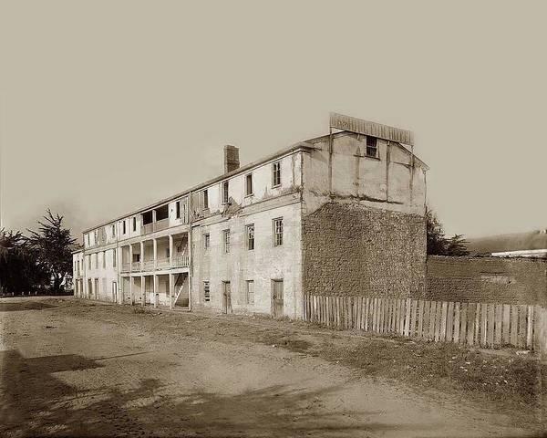 Photograph - Washington Hotel, Washington Pearl Streets, Monterey, Monterey by Augustus W Ericson