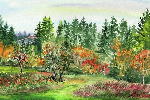 Painting - Washington State Fall Impressions by Irina Sztukowski