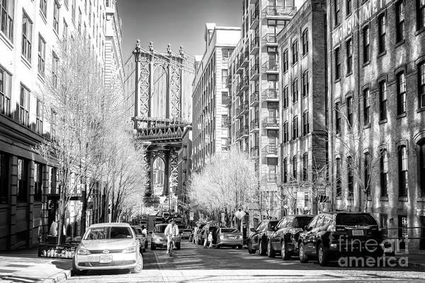 Photograph - Washington Street Dumbo Brooklyn by John Rizzuto
