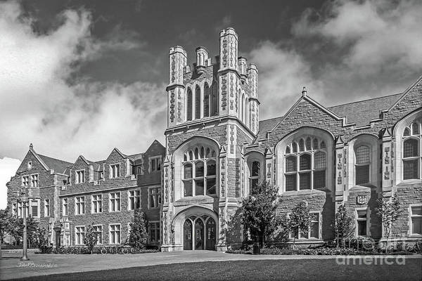 Mo Photograph - Washington University Anheuser- Busch Hall by University Icons