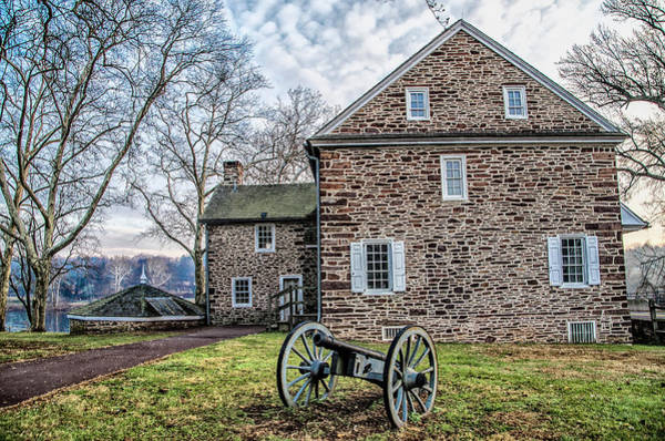 Wall Art - Photograph - Washingtons Crossing Pennsylvania In Hdr by Bill Cannon