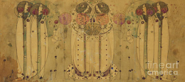 Wall Art - Painting - Wassail by Charles Rennie Mackintosh