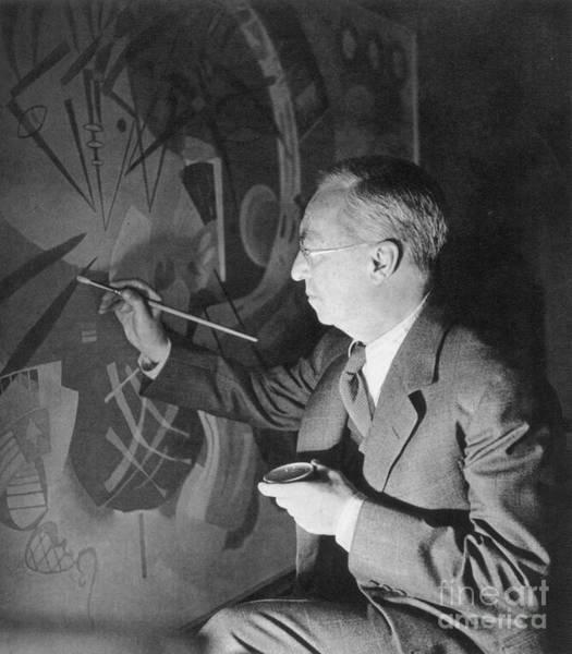 Photograph - Wassily Kandinsky by Granger