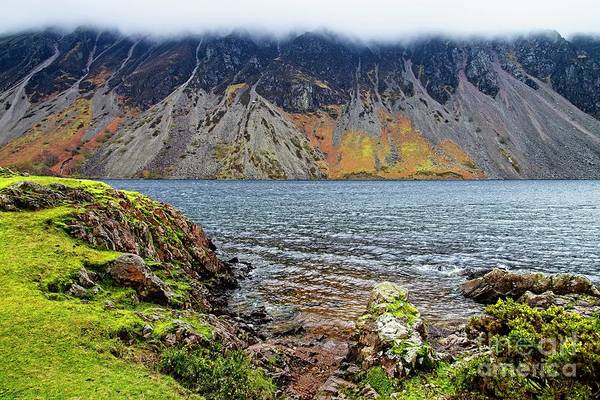 Photograph - Wast Water Screes Lake District  by Martyn Arnold